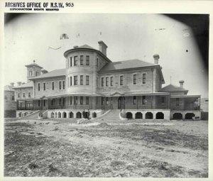 Callan Park Asylum 1930's.  Lilyfield. NSW