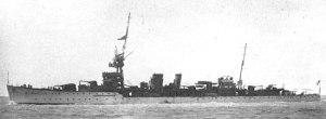 HMS Diomede D92, 1922