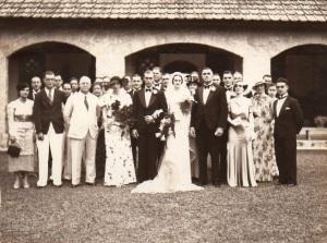 Neva and Brian's wedding.