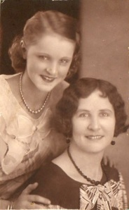 A young Neva and Priscilla.