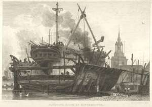 Rotherhithe docks