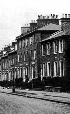 Amersham Road Deptford, London 1880's
