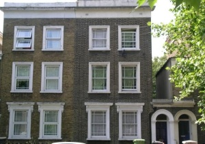 Aversham Road London Typical of houses in the street.
