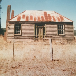 Old home along Blakeville Road - owner unknown. - 1998