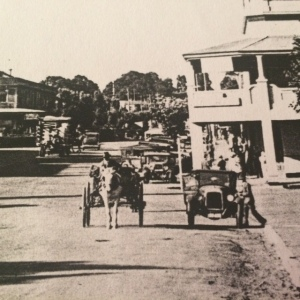 Queen Street intersection Warragul 1935