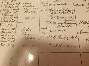 Registration of death John George Fowles.